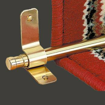Carpet Rod Finials Barrel Pair Solid Brass 12 Carpet Rod Carpet Rods Stair Rod