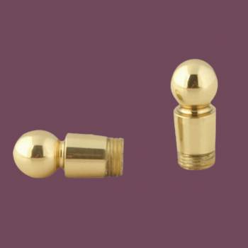 <PRE>Carpet Rod Finials Bright Brass Ball Finial </PRE>zoom2