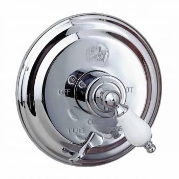 Shower Tub Faucet Mixer 1 Handle Valve Heavy Brass Chrome Tub Shower Shower Faucet Tub Shower Faucet