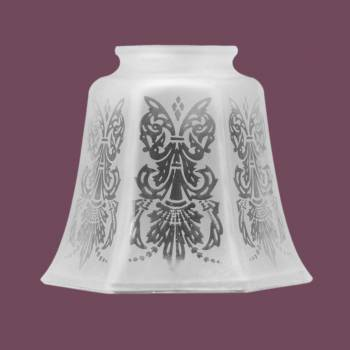 <PRE>Lamp Shades Frosted Glass Tulip Shade 4 1/8inchH </PRE>zoom2