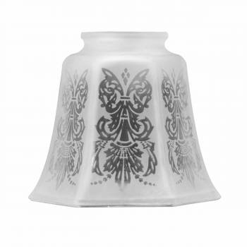 Lamp Shades Frosted Glass Tulip Shade 4 1/8