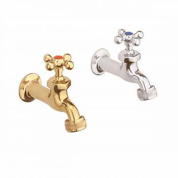 Outdoor Faucet Bright Brass Oratorio Single Hole 5