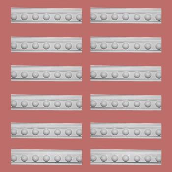 Renovators Supply Cornice White Urethane Fris Ornate Design 12 Pieces Totaling 948 Length White PrePrimed Urethane Crown Cornice Molding Cornice Crown Home Depot Ekena Millwork Molding Wall Ceiling Corner Cornice Crown Cove Molding