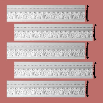 Renovators Supply Cornice White Urethane Etienne Ornate Design 5 Pieces Totaling 374.375 Length White PrePrimed Urethane Crown Cornice Molding Cornice Crown Home Depot Ekena Millwork Molding Wall Ceiling Corner Cornice Crown Cove Molding