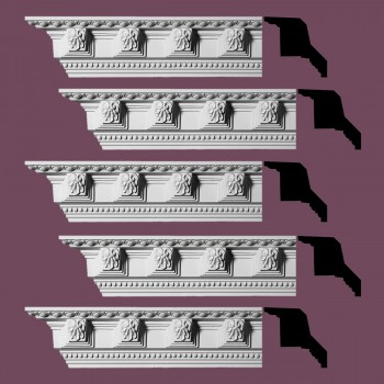 Renovators Supply Ornate Cornice White Urethane Three Rivers Design 5 Pieces Totaling 470 Length White PrePrimed Urethane Crown Cornice Molding Cornice Crown Home Depot Ekena Millwork Molding Wall Ceiling Corner Cornice Crown Cove Molding