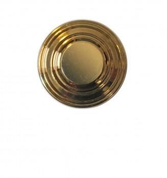 <PRE>Cabinet Knob Brass Double Flare 1 1/4inch Dia </PRE>zoom3