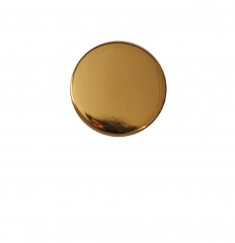 <PRE>Cabinet Knob Bright Solid Brass Traditional 1inch Dia </PRE>zoom3
