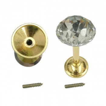 <PRE>2 Glass Curtain Tieback Holders  Brass Finish 40MM 1 Pair </PRE>zoom6