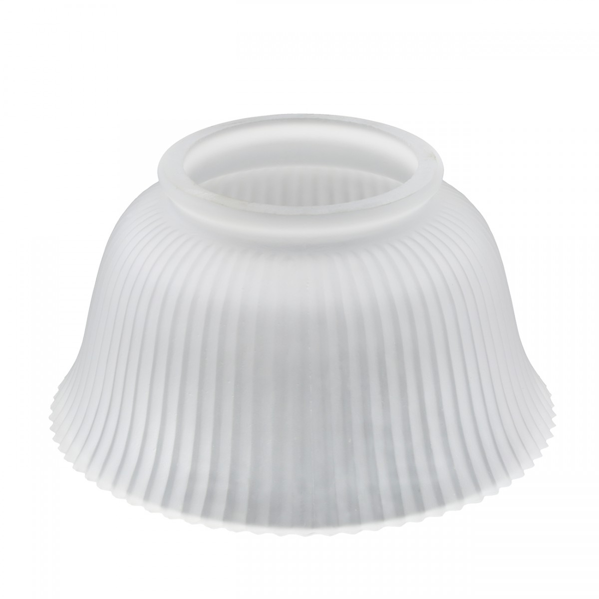 Lamp Shade White Glass Traditional 3 5 8 Quot H X 4 Quot Fitter
