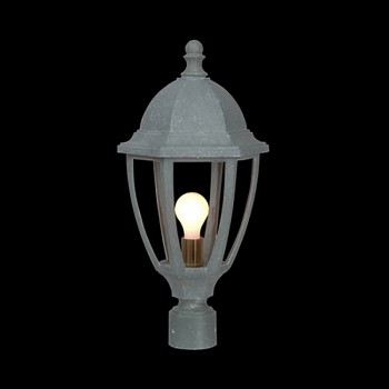 <PRE>Post Lamp Jade Mineral Outdoor Light 16&quot;H x 10.5&quot;W </PRE>