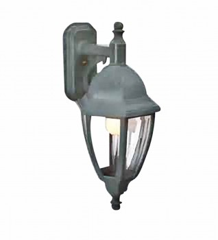 Granite-Style Inverted Outdoor Lamp