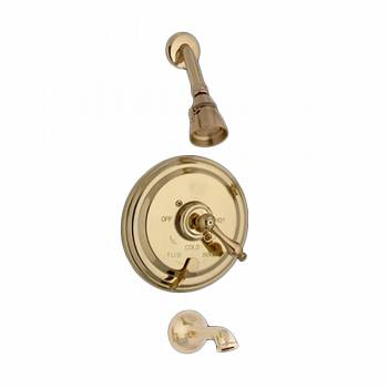 Brass 1 Handle Tub Faucet Shower Mixer Valve 98952grid