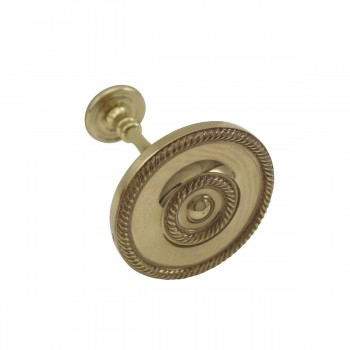 <PRE>2 Solid Brass Curtain Tieback Holders RSF Finish 3-1/4inch Dia. Renovator's Supply</PRE>zoom4