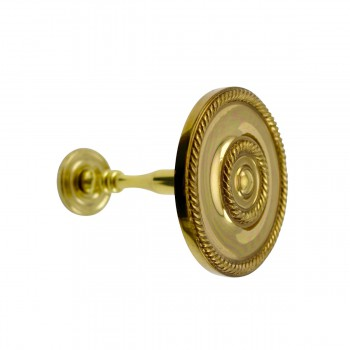 <PRE>2 Solid Brass Curtain Tieback Holders RSF Finish 3-1/4inch Dia. Renovator's Supply</PRE>zoom9