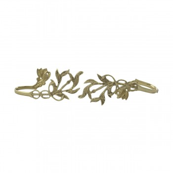<PRE>Vintage Pair Vine Curtain Tie Back Holder Bright Brass One up One Down</PRE>zoom10