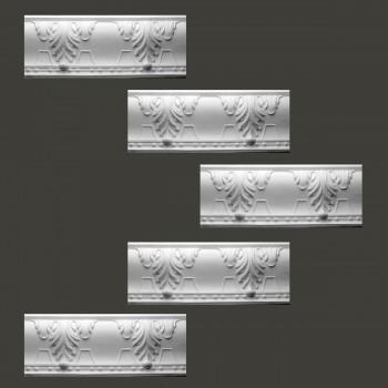 Renovators Supply Cornice White Urethane Autumn Melody Design 5 Pieces Totaling 396.875 Length White PrePrimed Urethane Crown Cornice Molding Cornice Crown Home Depot Ekena Millwork Molding Wall Ceiling Corner Cornice Crown Cove Molding