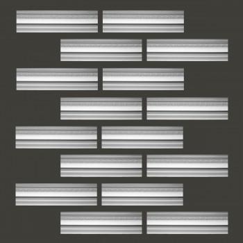 <PRE>Renovator's Supply Cornice White Urethane Medowlark Design 16 Pieces Totaling 1240inch Length</PRE>zoom2