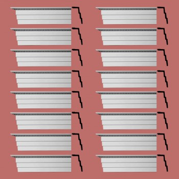 <PRE>Renovator's Supply Cornice White Urethane Barrington Ornate Design 16 Pieces Totaling 1504inch Length</PRE>zoom2