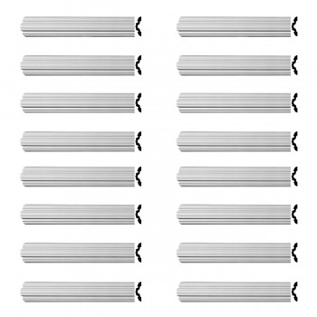 Renovators Supply Crown Molding Urethane Fall River Simple Design 16 Pieces Totaling 1536 Length White PrePrimed Urethane Crown Cornice Molding Cornice Crown Home Depot Ekena Millwork Molding Wall Ceiling Corner Cornice Crown Cove Molding