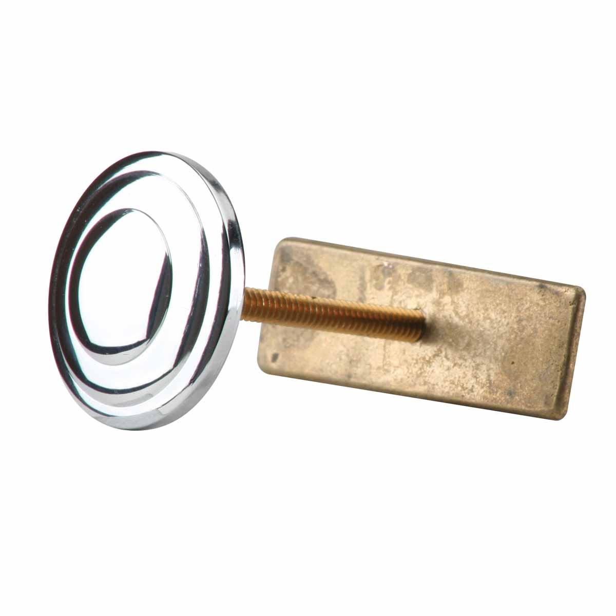 ... U003cPREu003eBright Chrome Sink Hole Plugs Center Hole Cover 1 1/2 In ...
