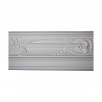 <PRE>Renovator's Supply Cornice White Urethane Julia Ornate Design 16 Pieces Totaling 1496inch Length</PRE>zoom4