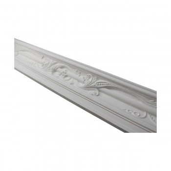 <PRE>Renovator's Supply Cornice White Urethane Julia Ornate Design 16 Pieces Totaling 1496inch Length</PRE>zoom7