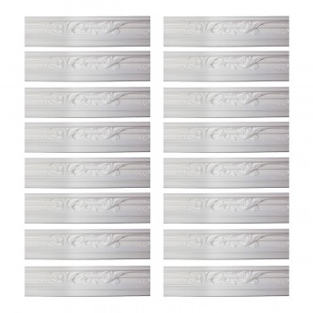 <PRE>Renovator's Supply Cornice White Urethane Julia Ornate Design 16 Pieces Totaling 1496inch Length</PRE>zoom1