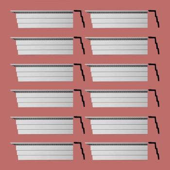 <PRE>Renovator's Supply Cornice White Urethane Barrington Ornate Design 12 Pieces Totaling 1128inch Length</PRE>zoom2