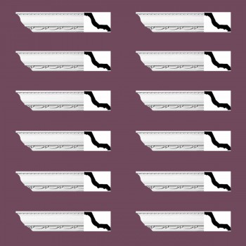 <PRE>Renovator's Supply Ornate Cornice White Urethane Williamstown Design 12 Pieces Totaling 1128inch Length</PRE>zoom2