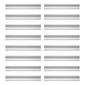 <PRE>Renovator's Supply Cornice White Urethane Jackson Simple Design 16 Pieces Totaling 1504inch Length</PRE>zoom1