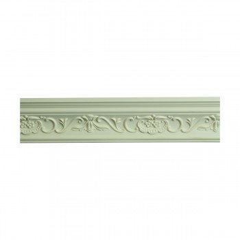 <PRE>Renovator's Supply Ornate Cornice White Urethane Amaryllis Design 16 Pieces Totaling 1504inch Length</PRE>zoom3