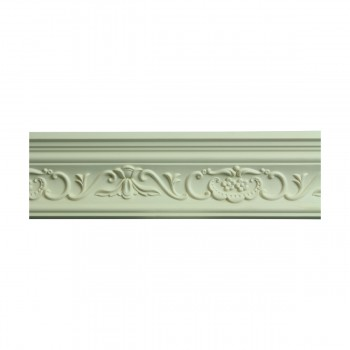 <PRE>Renovator's Supply Ornate Cornice White Urethane Amaryllis Design 16 Pieces Totaling 1504inch Length</PRE>zoom5