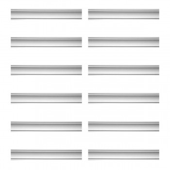 <PRE>Renovator's Supply Cornice White Urethane Jackson Simple Design 12 Pieces Totaling 1128inch Length</PRE>zoom1