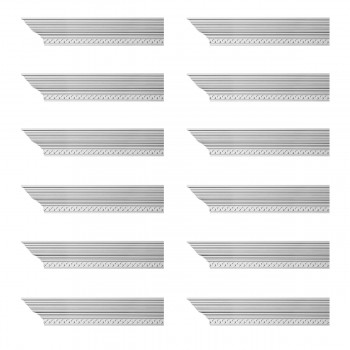 <PRE>Renovator's Supply Cornice White Urethane Lourdes Ornate Design 12 Pieces Totaling 1128inch Length</PRE>zoom1
