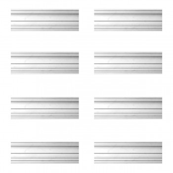 <PRE>Renovator's Supply Cornice White Urethane Federal Simple Design 8 Pieces Totaling 638inch Length</PRE>zoom1