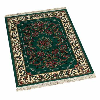 "<PRE>Rectangular Area Rug 5' 6inch x 7' 6""  Green Polypropylene </PRE>zoom1"
