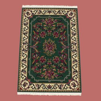 Rectangular Area Rug 7 x 5 3 Green Polypropylene Rugs Rug Decorative Rugs