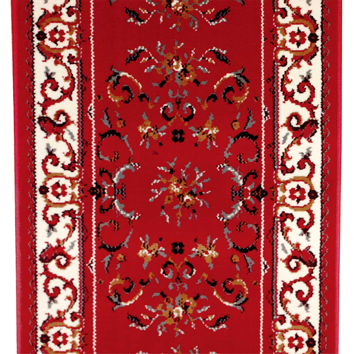 Runner Area Rug 2 2 Wide Sold By Foot Red Polypropylene