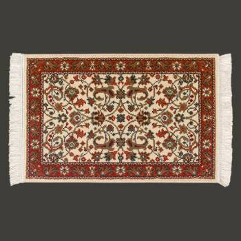 <PRE>Rectangular Area Rug 3' x 2' Red Polypropylene </PRE>zoom2