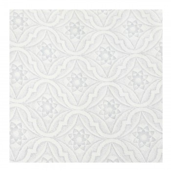 Wallpaper Blue/White Star Embossed Textured Vinyl 99858grid