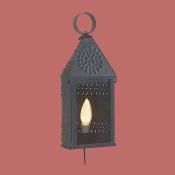 Colonial Candle Lamp Black - Floor Heat Registers, Aluminum, steel, wood and brass Floor heat registers info & free shipping by Renovator's Supply.