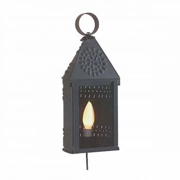 Colonial Candle Lamp Black