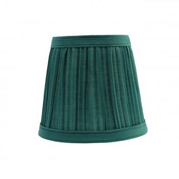 Lamp Shade Hunter Green Fabric 4 116 H Mini Clip On ClipOn Lamp Shade Green Fabric Lamp Shade Chandelier Lamp Shade