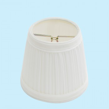 <PRE>Lamp Shade White Fabric 4 1/16inch Mini Clip On </PRE>zoom2