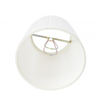 <PRE>Lamp Shade White Fabric 4 1/16inch Mini Clip On </PRE>zoom5