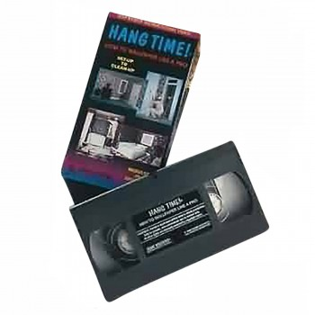 Wallpaper Instructional Video Hang Time! VHS Wallpaper Wall Paper Vinyl Wall Paper