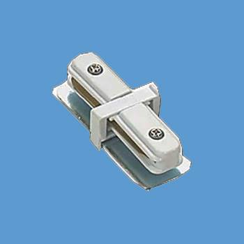 spec-<PRE>Track Lighting White I Connector for 2 Conductor Track </PRE>